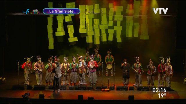 Patos Cabreros, La Gran Siete y Nazarenos en el Teatro de Verano