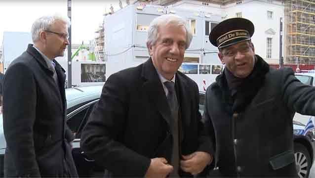 El presidente Vázquez y una delegación oficial ya se encuentran en Alemania