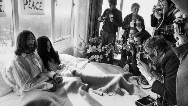 Realizarán una película con la historia de amor de John Lennon y Yoko Ono