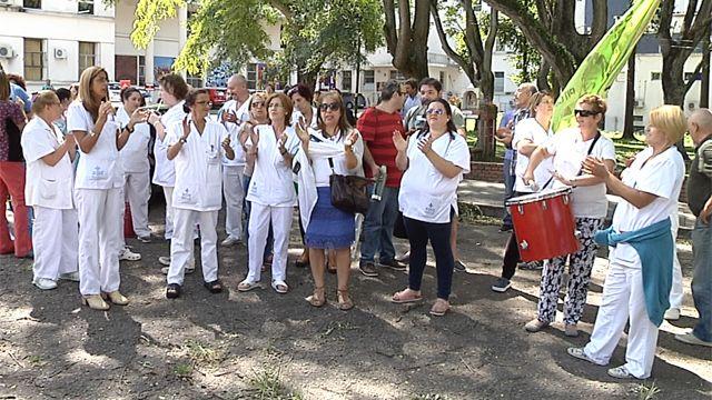 Movilización en Hospital Saint Bois por supresión de un cargo