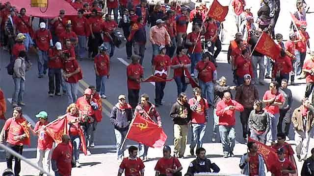 Sindicato de la Construcción para por muerte de trabajador en Cerro Largo