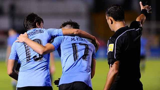 Uruguay gana 3 a 0 ante Colombia y buscará clasificar hoy al Mundial