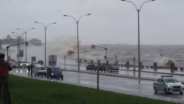 Alerta amarilla por vientos fuertes de hasta 75 km/h en la zona costera