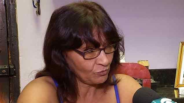 """Madre de Valeria dice que """"taparon"""" la denuncia contra el policía violento"""