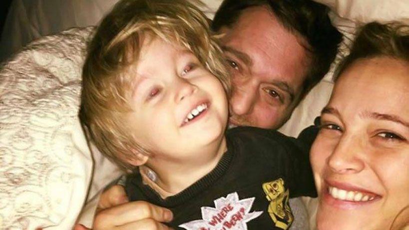 Luisana Lopilato y Michael Bublé hablaron de la salud de su hijo Noah