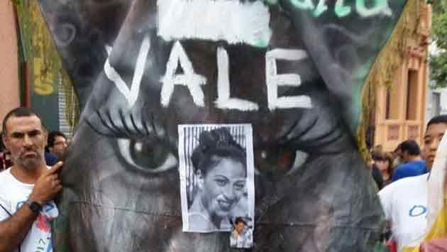 Enérgica condena al femicidio de Valeria y marcha con tambores en su memoria