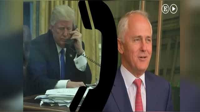 Donald Trump se enojó y le cortó el teléfono al Primer Ministro de Austalia