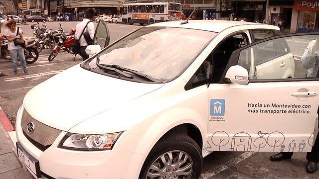 Intendente de Montevideo usará auto eléctrico para promover cambio