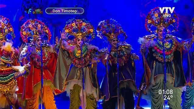Don Timoteo, Los Antiguos, Tronar de Tambores y La Martingala en el Teatro