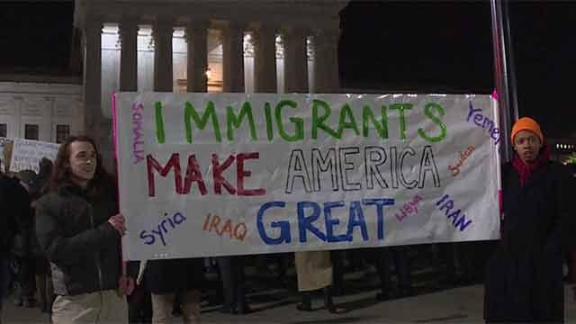Oposición de EE.UU protesta por medidas migratorias de Trump