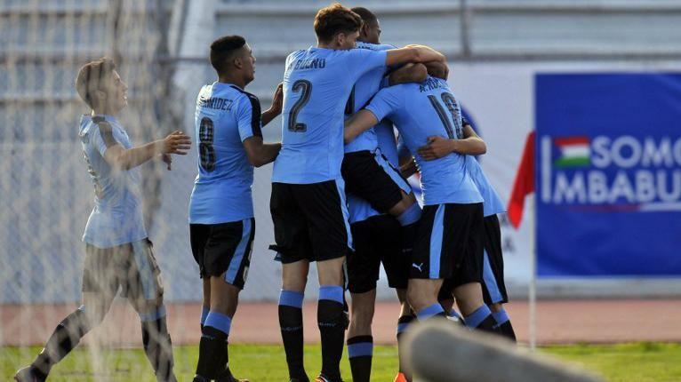 Uruguay goleó a Bolivia y está en el hexagonal final del Sudamericano Sub20