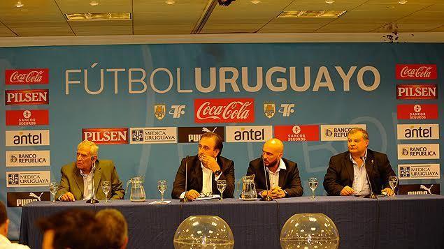 Sorteo del Apertura: Peñarol recibe El Tanque y Juventud a Nacional