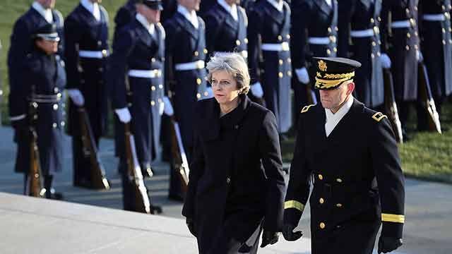 Donald Trump recibe a Theresa May para delinear la era post-Brexit