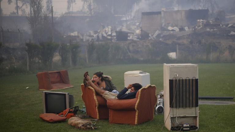Ascienden a diez los muertos por los voraces incendios en Chile