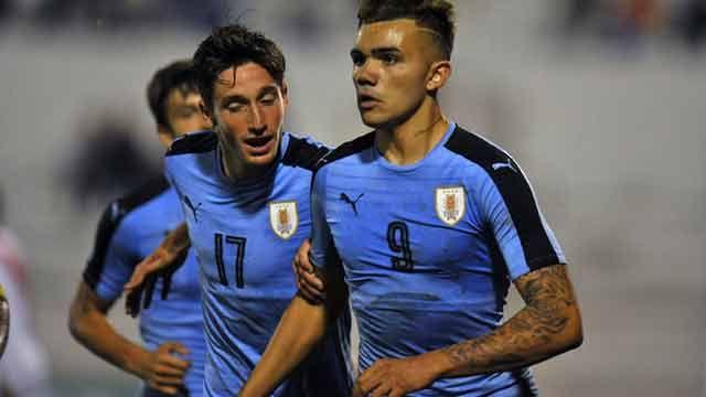 La Sub20 uruguaya le ganó 2-0 a Perú y este viernes enfrenta a Bolivia