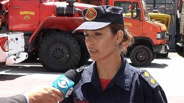 Chile pidió bomberos a Uruguay para combatir incendio forestal