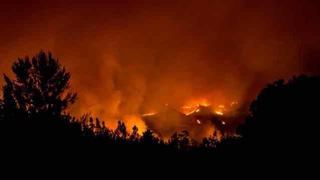 Seis muertos en incendios forestales más graves de la historia de Chile