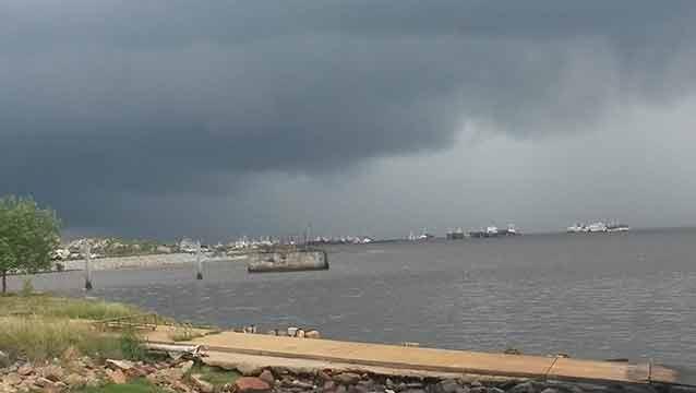 Meteorología emitió una advertencia amarilla por tormentas intensas