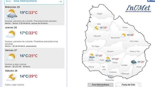 Ya no hay riesgo meteorológico: miércoles lluvioso, pero mejorará el jueves