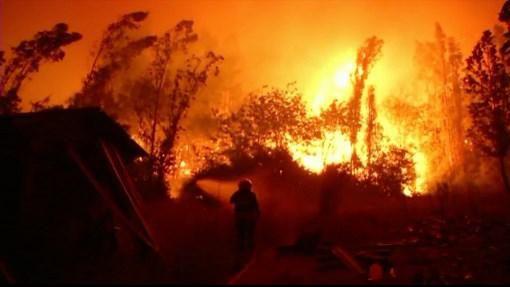 Chile pide ayuda para combatir el peor incendio forestal de su historia