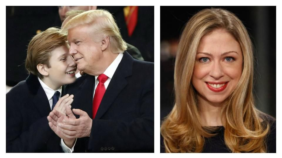 Barron Trump troleado en redes sociales por ser el hijo del presidente