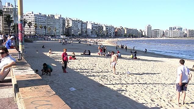 La lista de las playas de Montevideo habilitadas para baños