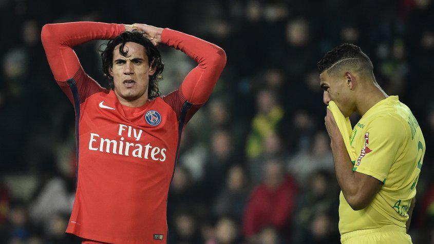 Cavani sigue con su racha goleadora: le hizo dos a Nantes