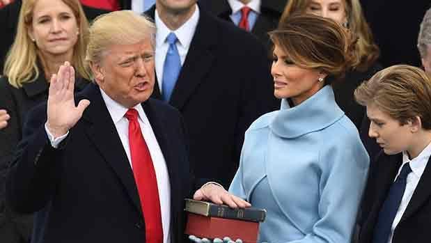 Asumió Trump como presidente de EEUU y prometió devolver el poder a la gente