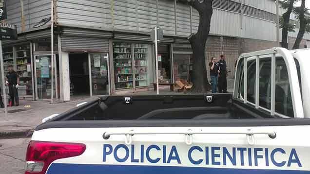 Tres detenidos por rapiña y tiroteo a repartidor de cigarrillos