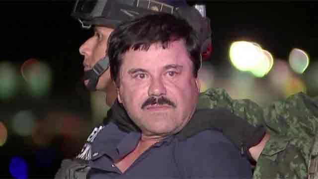 México extraditó a Estados Unidos al Chapo Guzmán