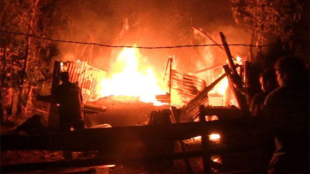 Voraz incendio arrasó una vivienda precaria en Maldonado; pérdidas totales