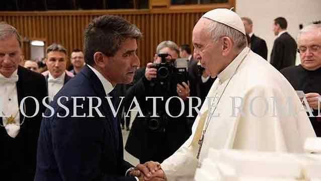 Sendic se reunió con papa Francisco por archivos católicos de la dictadura