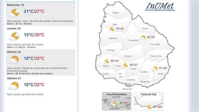 Cuatro días de sol y con temperatura en aumento