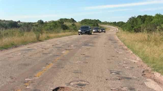 Reclamos por el pésimo estado de la Ruta 39, en Maldonado