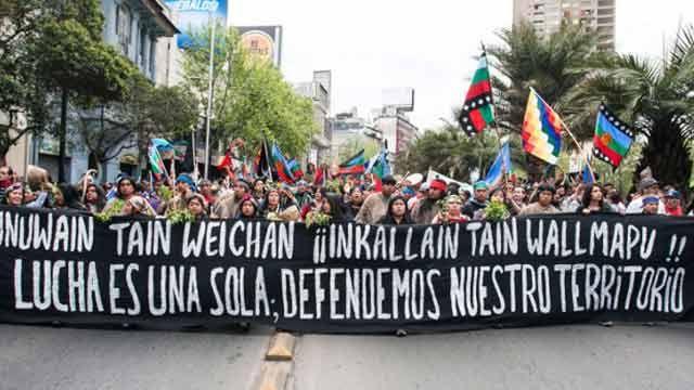 Varios heridos en enfrentamientos entre mapuches y la Gendarmería argentina