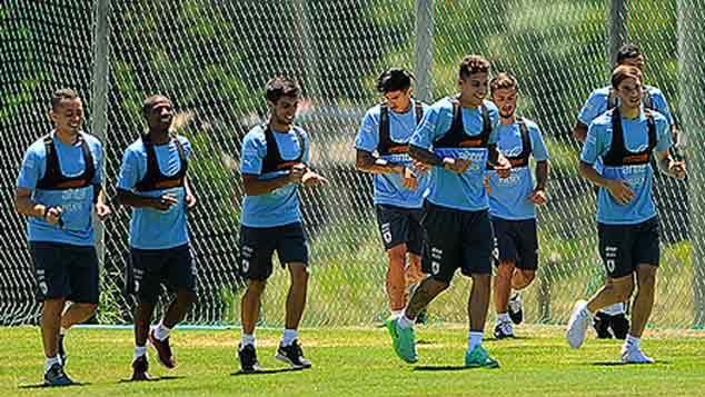 Uruguay partió hacia Ecuador para disputar el Sudamericano Sub 20