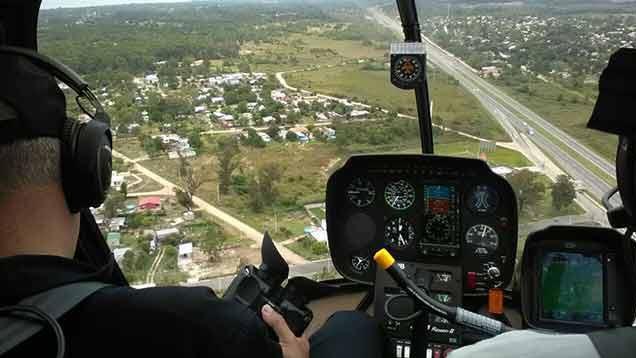 Así operan los nuevos helicópteros de la Policía para la vigilancia aérea