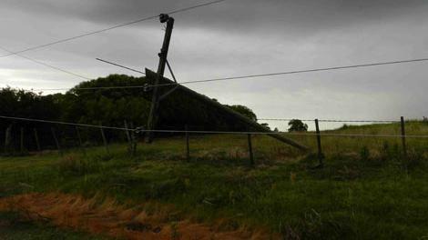 INUMET actualizó la advertencia amarilla por tormentas intensas y lluvias