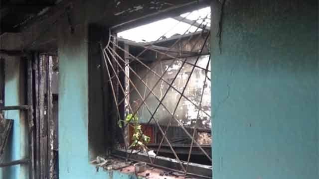 Dos policías rescataron a un niño en medio de un incendio en Artigas