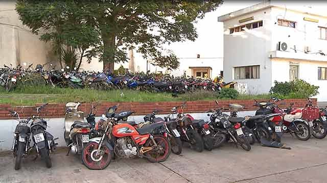 Policía incautó más de 11.000 motos en 2016, de las cuales 336 eran robadas