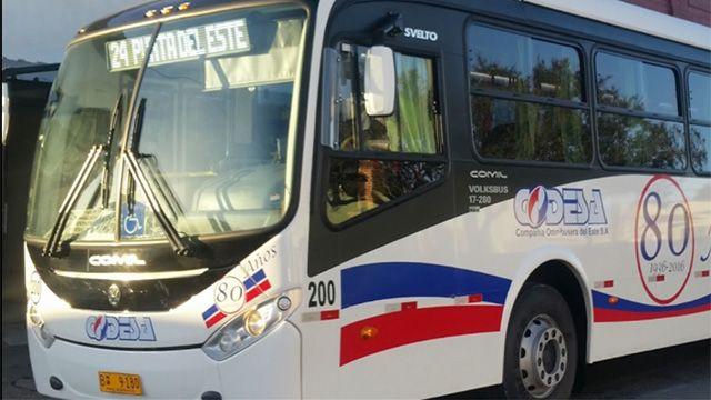 Turistas golpearon a Chofer de ómnibus en Punta del Este