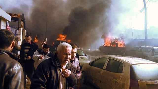 Al menos 43 personas murieron por el estallido de coche bomba en Siria