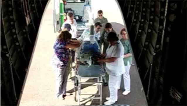 Fuerza Aérea trasladó de urgencia a bebé prematuro de 26 semanas