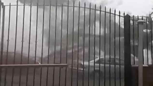 Así registró la gente el fuerte temporal y los cuantiosos daños que provocó