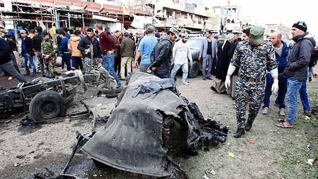 Al menos 32 muertos en un atentado con coche bomba en Bagdad