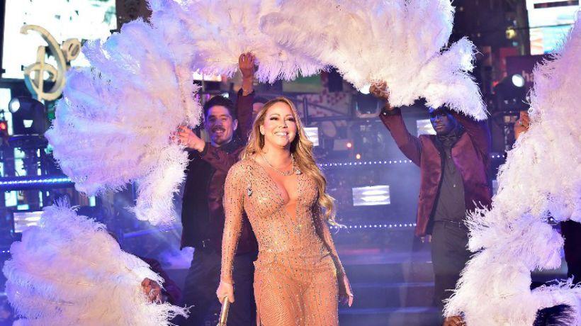 Mariah Carey decepcionada por su actuación de Año Nuevo en Times Square