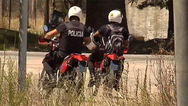 Policía falleció tras despistar cuando circulaba en moto por la Rambla