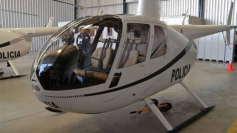 Tres helicópteros se sumaron a la Unidad Aérea de la Policía Nacional