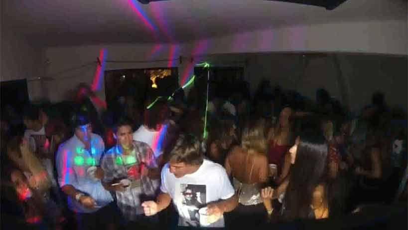 Multas de hasta 30.000 dólares a fiestas clandestinas en La Barra