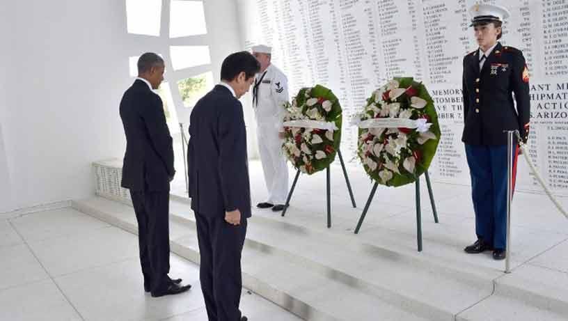 Por primera vez Japón participa en homenaje a los caídos en Pearl Harbor